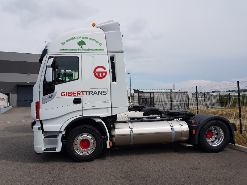GIBERTTRANS s'engage pour un transport plus propre.